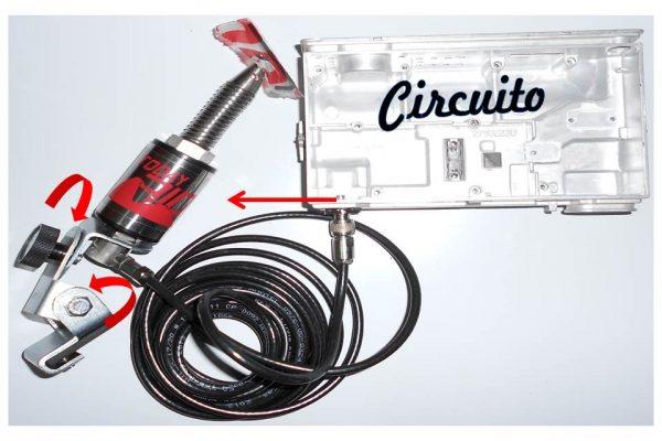 Kit Antena Radio móvel