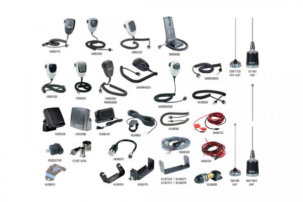 Lista dos Acessórios DEM300|DEM400 Energia e Áudio