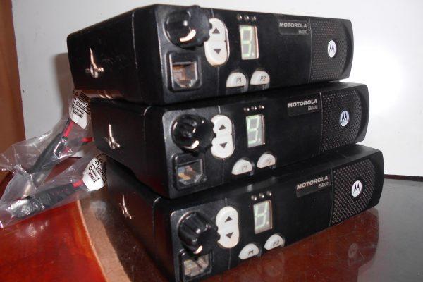 Radios EM200 em asistencia técnica
