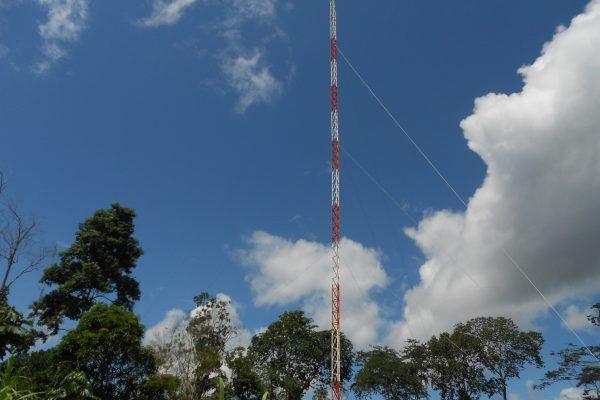 Torre Galvanizada ja instalada