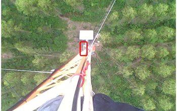 Visão do alto para baixo veja quanto isolamento