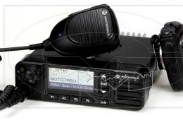 Rádio Motorola DGM8500e VHF/UHF Digital e Analógico circuito BGA