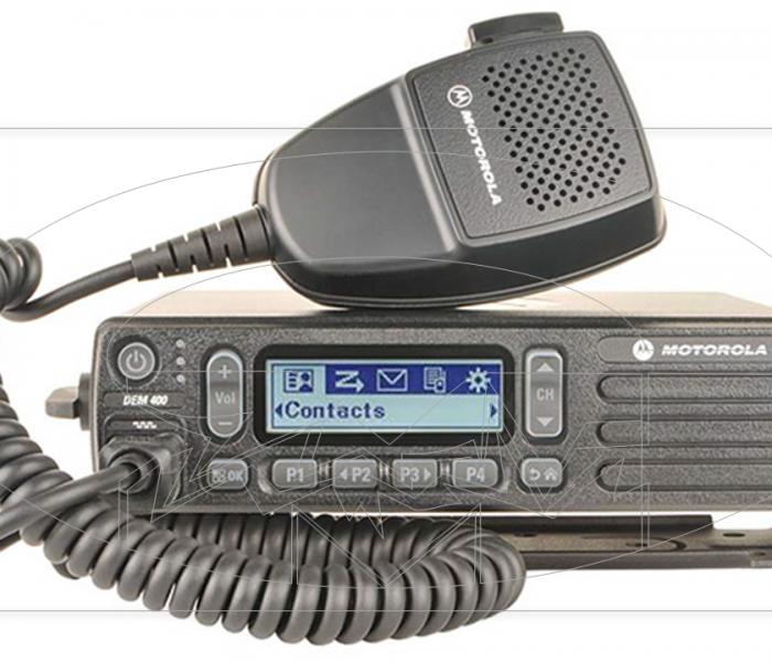 Radio Motorola Móvel DEM400