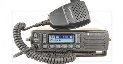 Radio Digital Motorola DEM400 pode ser no carro na maquina ou Base na portaria