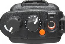 Rádio Portátil Digital DGP8050e Botoes