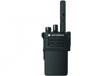 Rádio Portátil Digital DGP8050e frontal